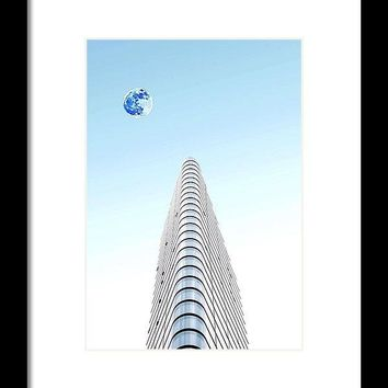 Urban Architecture - London, United Kingdom 6ab - Framed Print