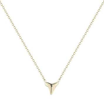 Vale Tiny Shark Tooth Necklace