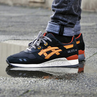 Asics Gel Lyte III (Black/Tan/Orange)
