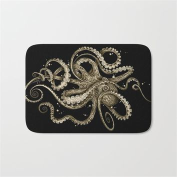 Autumn Fall welcome door mat doormat Marine life Front of Entrance s Colorfast Cartoon Octopus Carpets Kids Bedroom Bedside Foot Pads Decor for Living Room AT_76_7