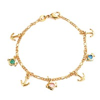 Bling Jewelry Fish Tale Bracelet