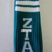 Zeta Tau Alpha Sorority Socks