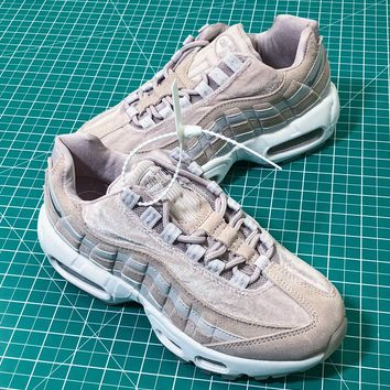 Nike Air Max 95 Deluxe Particle Rose Aa1103-600 Womne's Sport Running Shoes Sneakers - Best Online Sale