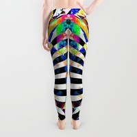 MAGNOPOLES Leggings by Chrisb Marquez