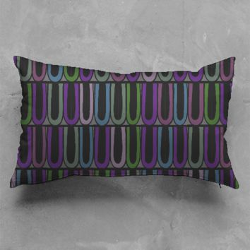 Circus Trim Dark Pillow 2