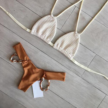 Sexy Shell Beach Bikini Swimsuit Swimwear