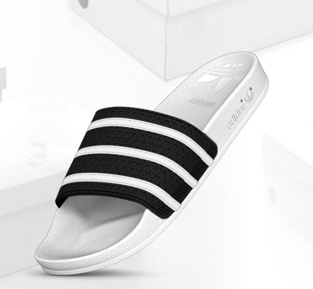 8b602be3ac7c9 adidas mi adilette Custom Slides from adidas