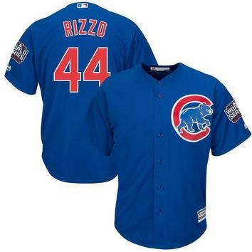 Men's Chicago Cubs Anthony Rizzo Majestic Royal 2016 World Series Bound Alternate Cool Base Player Jersey