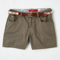 Boho Short Length It's in Your Nature Walk Shorts