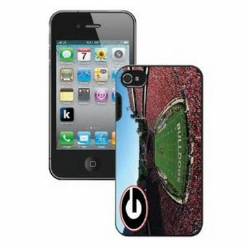 Ncaa Iphone 5 Case- Stadium Georgia Bulldogs