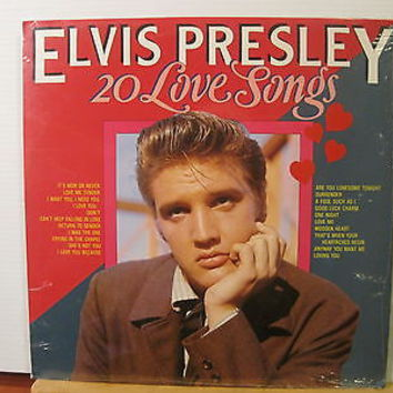 ELVIS PRESLEY 20 Love Songs STILL SEALED - Free UK Post | eBay