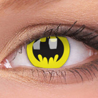Bat Crusader Contact Lenses, Bat Crusader Contacts | EyesBright.com