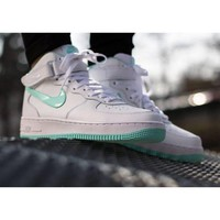 DCCK Air Force 1 Easter White Clear Mint