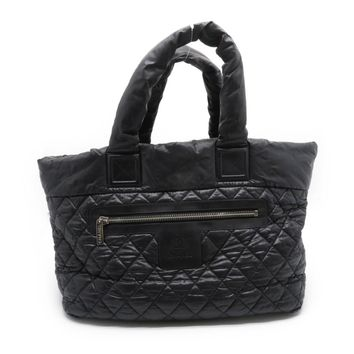 Chanel Quilting Nylon Coco Cocoon Tote Bag Black 2633