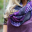 Polished in Purple Infinity Scarf