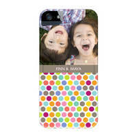 Seeing Spots iPhone 5/5s ColorStrong Slim-Pro Case w/Kick Stand - Cherishables