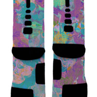 Marble Custom Nike Elites