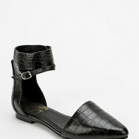 Yes Baebae Ankle-Cuff Flat - Urban Outfitters