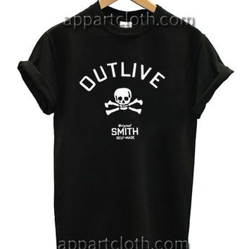 Outlive Original Smith Funny Shirts, Funny America Shirts