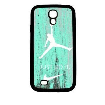 CREYONB Nike Jordan Mint Wood Samsung Galaxy S4 Case