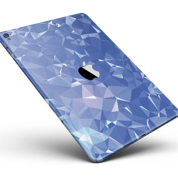 "Blue Geometric V16 Full Body Skin for the iPad Pro (12.9"" or 9.7"" available)"