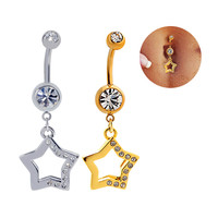 Sexy Stainless Steel Accessory Jewelry Belly Ring [6768823175]