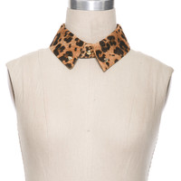 Foreign Exchange :: NEW ARRIVALS :: LEOPARD SNAP COLLAR WITH STUDS