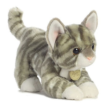 Aurora World Miyoni Tots Grey Tabby Kitten Plush
