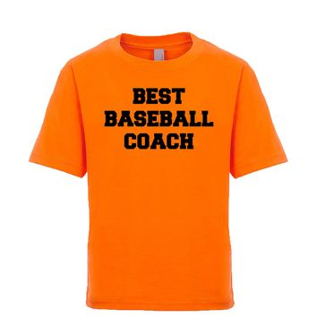 Best Baseball Coach  Unisex Kid's Tee