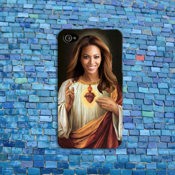 Cool Jesus Beyonce iPhone Case Funny Phone Cover Music Cell Phone Case Hilarious Case iPhone 4 iPhone 5 iPhone 4s iPhone 5s iPhone 5c Case