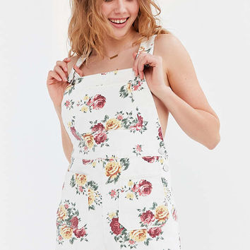 BDG Pinup Floral Denim Shortall - Urban Outfitters