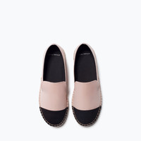 Pointed espadrilles