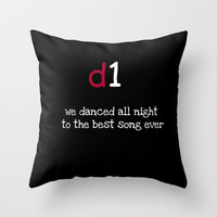 BEST SONG EVER Throw Pillow by  Alexia Miles photography