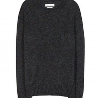 Raya wool and mohair-blend sweater