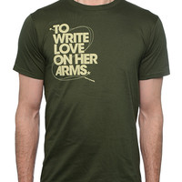 To Write Love on Her Arms Official Online Store - USA Cares Shirt