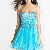 Homecoming dresses by Blush Prom Homecoming Style 9259