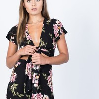 Peaceful Floral Matching Set