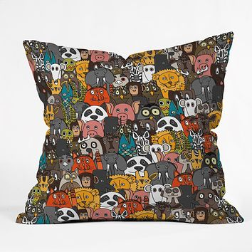 Sharon Turner Plushies Throw Pillow