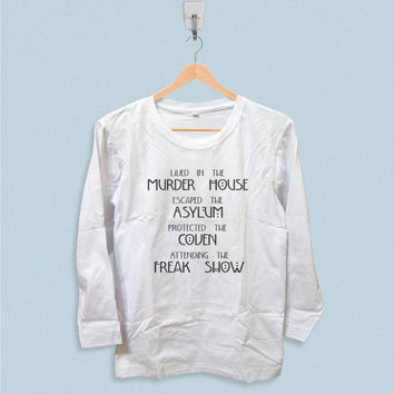 Long Sleeve T-shirt - Lived in The Murder House