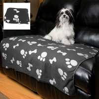 Evelots Large Fleece Pet Blanket 44 X 38 Inches, Soft & Durable For Cats & Dogs
