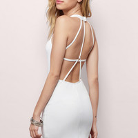 Dream Girl Backless Bodycon Dress $31