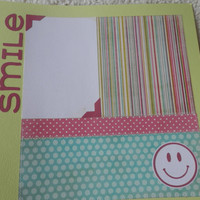 12x12 Premade Girl or Friends Scrapbook Layout