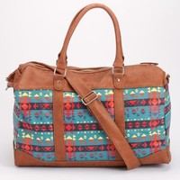 Southwest Tan Trim Weekender