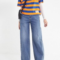 Tommy Jeans Signature Striped Tee   Urban Outfitters