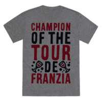 CHAMPION OF THE TOUR DE FRANZIA