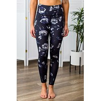 Midnight Roses Leggings