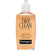 Deep Clean Facial Cleanser | Neutrogena®