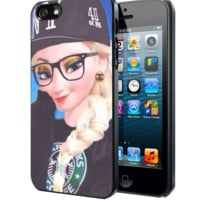 Disney frozen elsa fashion D Samsung Galaxy S3 S4 S5 Note 3 , iPhone 4(S) 5(S) 5c 6 Plus , iPod 4 5 case