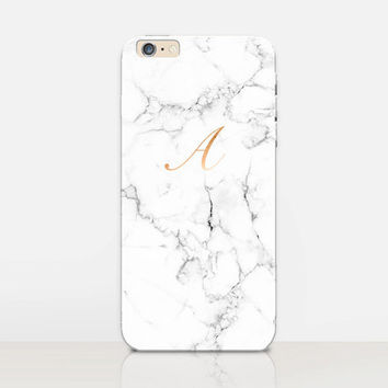 Monogram Marble Phone Case  - iPhone 6 Case - iPhone 5 Case - iPhone 4 Case - Samsung S4 Case - iPhone 5C - Tough Case - Matte Case