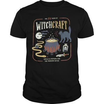 The big book of witchcraft spells and potions for the modern witch shirt Premium Fitted Guys Tee